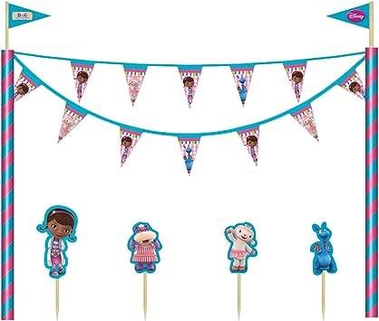 1 X DISNEY DOC MC STUFFINS Cartoon Cake Stand fête anniversaire vente
