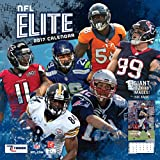 Turner Licensing Sport 2017 NFL Elite Wall Calendar, 12''X12'' (17998011970)