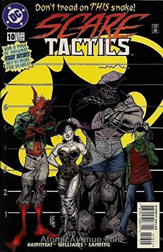 Scare Tactics #10A FN ; DC comic book (Best Of Scare Tactics)
