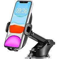 Bovon Mobiele telefoonhouder voor in de auto, 360° draaibaar, dashboard, autohouder met telescooparm, universele…