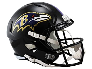 Riddell - Casco réplica de NFL, NFL, Color Morado, tamaño Medium