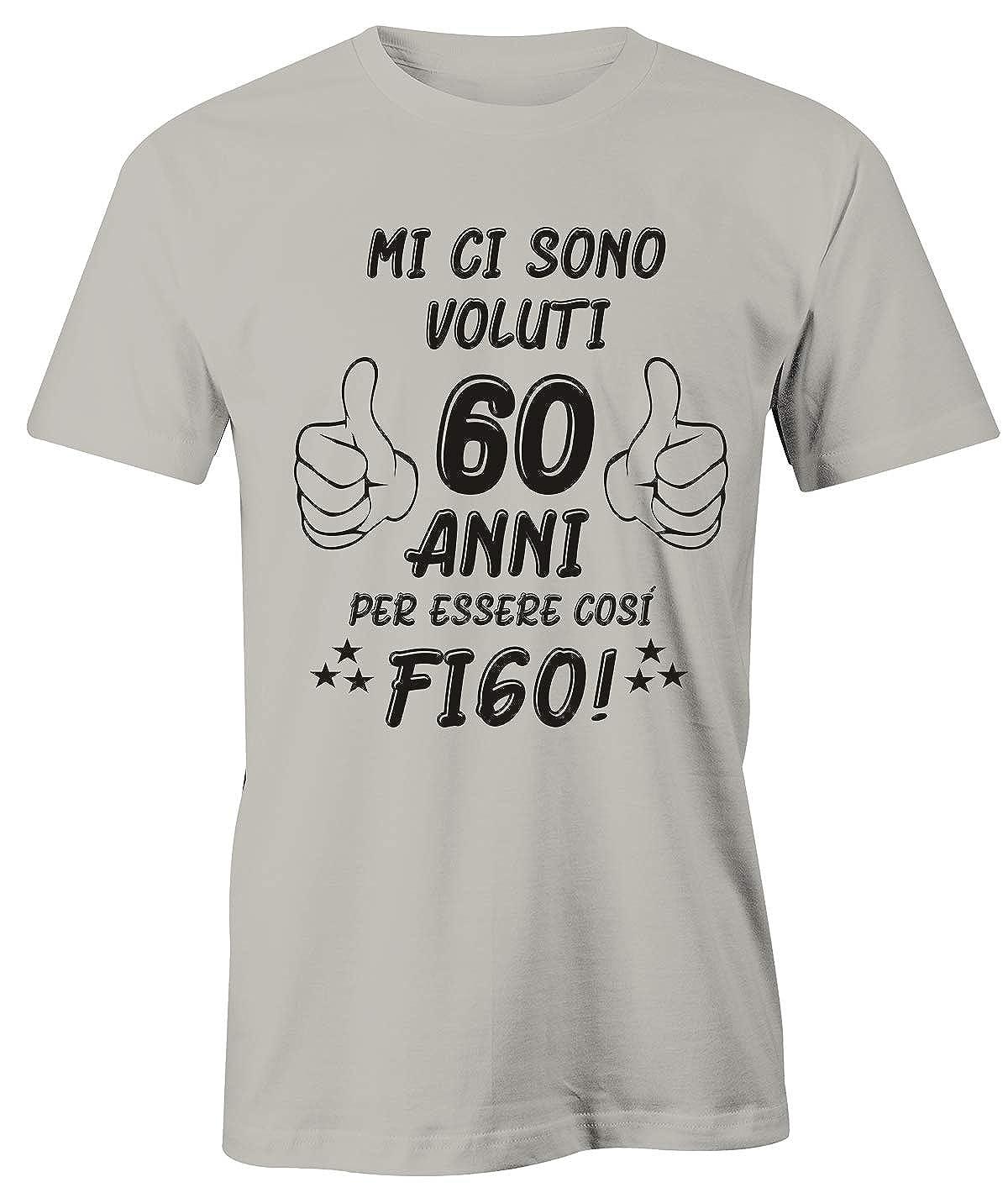 Mi Ci Sono Voluti 60 Anni per Essere cos/ì Figo Idea Regalo Puzzletee T-Shirt Compleanno Uomo Maglietta 60/° Compleanno
