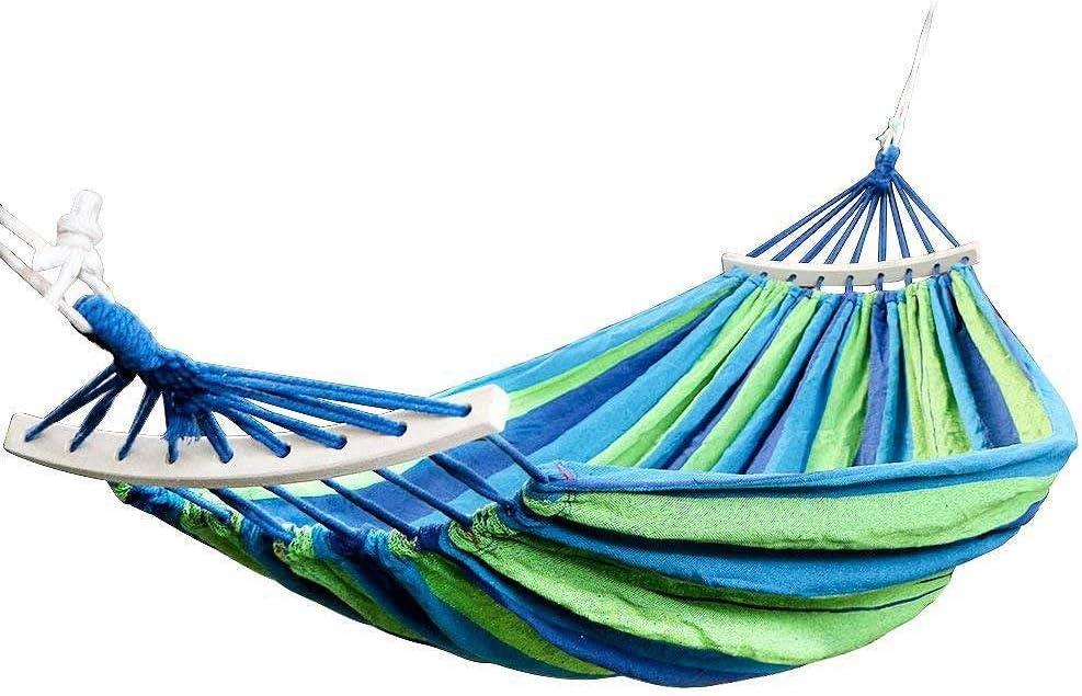 Pik Amaca Doppia 450 libbre di Campeggio Portatile da Viaggio Appesa Amaca Altalena Lazy Chair Amache di Tela Blu