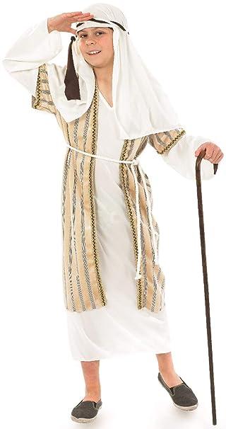Amazon.com : Girls Boys Gold Shepherd Nativity School Play ...