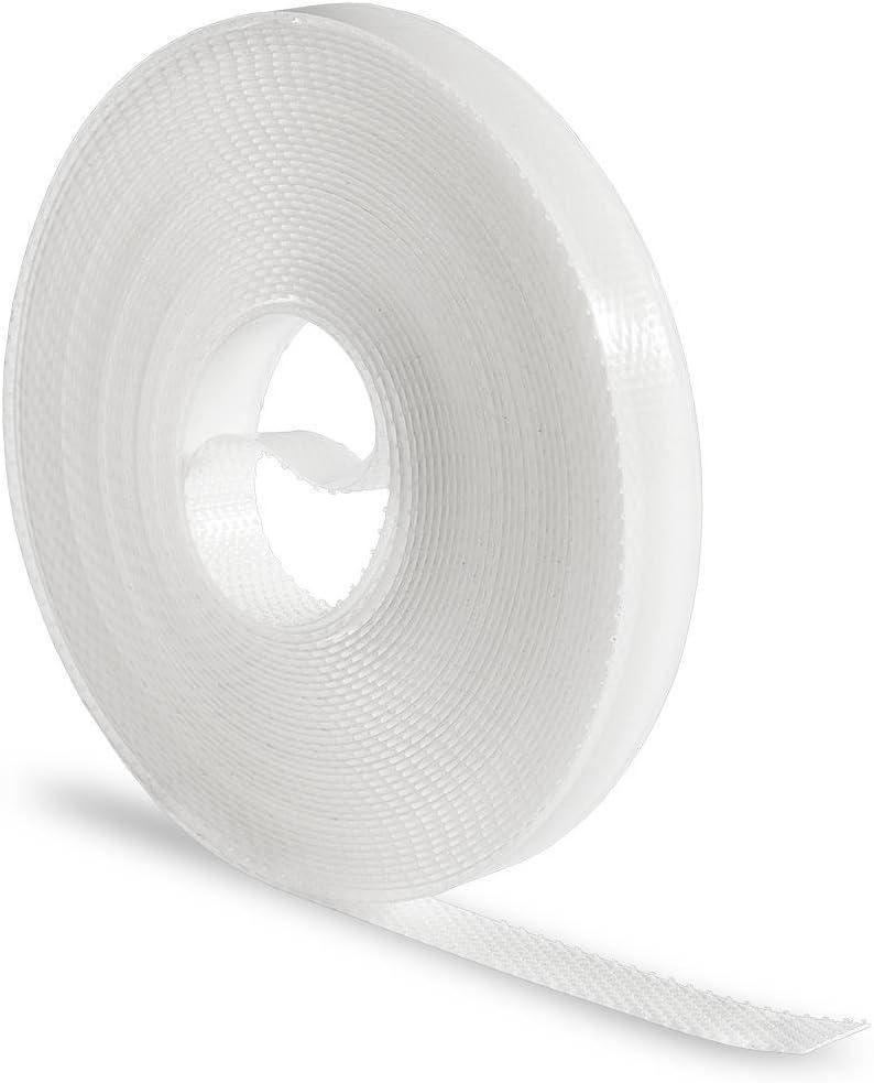Haga/® Bande bande de fixation pour filet anti-insectes en longueur 5,6 m