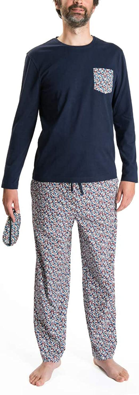 Nightoclock Blower Conjunto de Pijama para Hombre en algodón ...
