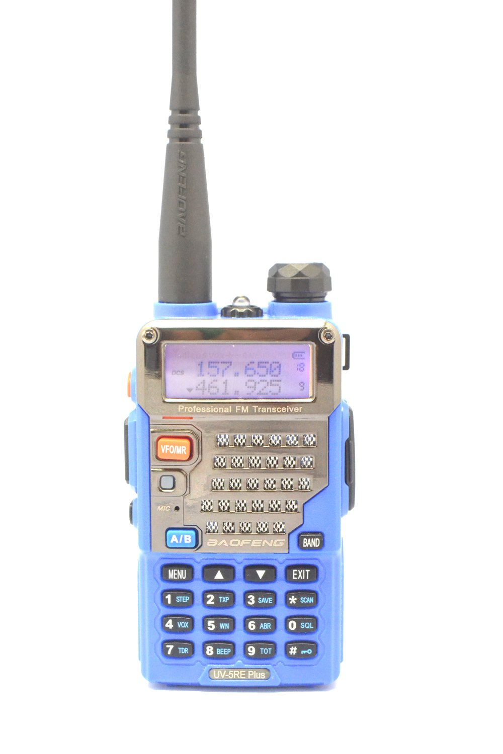 New Highest Version Baofeng Uv 5re Plus Dual Band Vhf Ht Verxion Uhf 136 174mhz400 520mhz Walkie Talkie 5r Blue Car Electronics