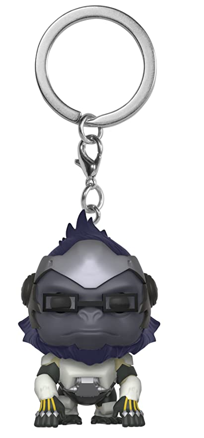 Funko Pop Keychain: Overwatch - Winston Collectible Figure, Multicolor