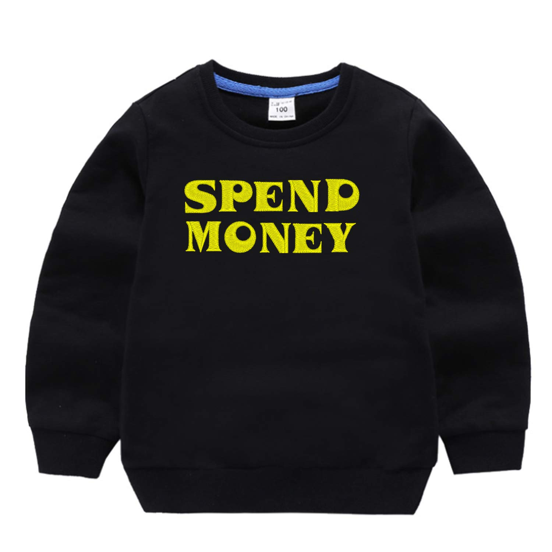 Custom Embroidered Family Sweatshirts Mon Dad Kids Sweatshirt