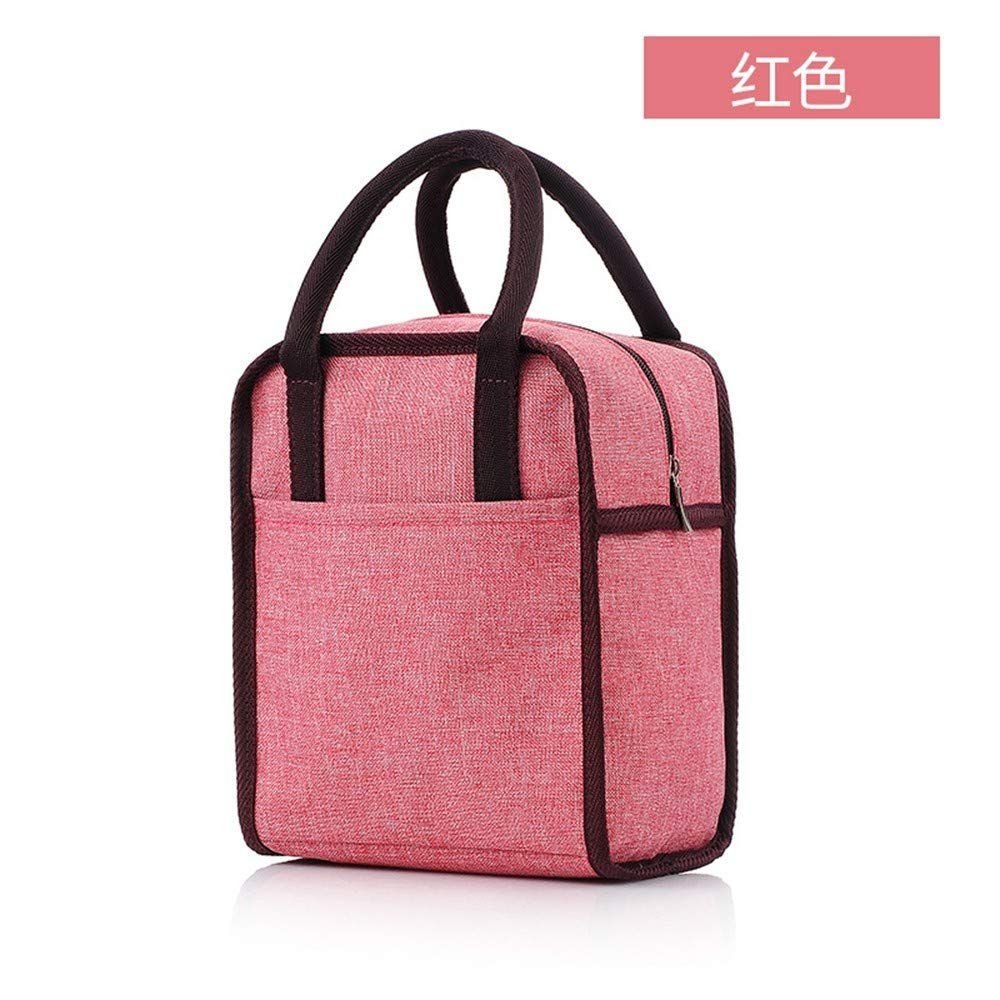 a6392000474d Shukun insulated bag Waterproof Oxford Cloth Hand-Held Thermal Insulation  Bag Thickened Rice Bag Insulation Bag Lunch Box Bag Lunch Bag.