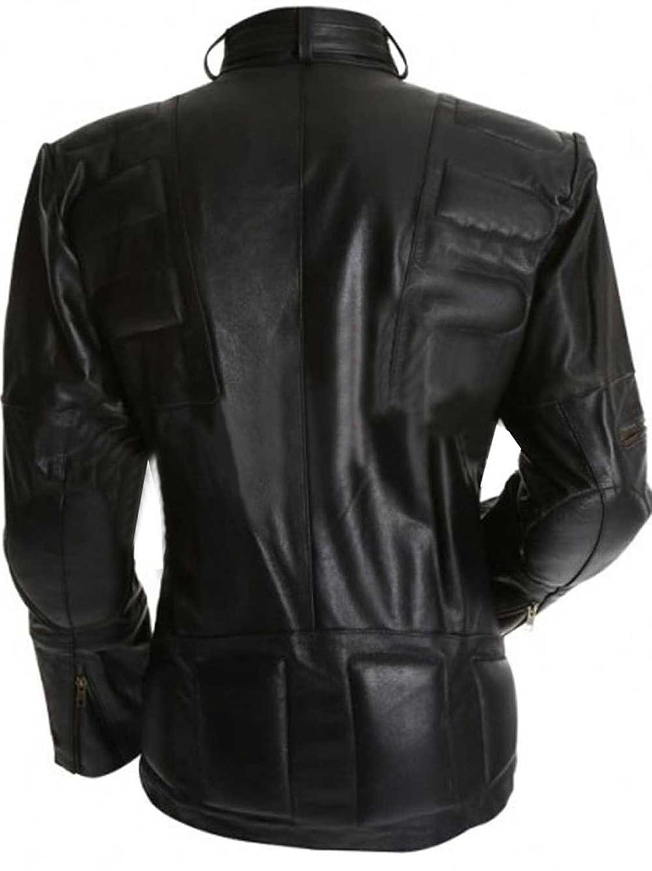 Staying Alive Tony Manero Mens Stylish Genuine Supreme Black Faux Leather Jacket