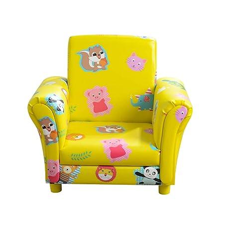 Mini/ /Sill/ón infantil ni/ños Baby baby Sill/ón Sof/á Silla Infantil Silla Espuma respetuoso con el medio ambiente amarillo amarillo