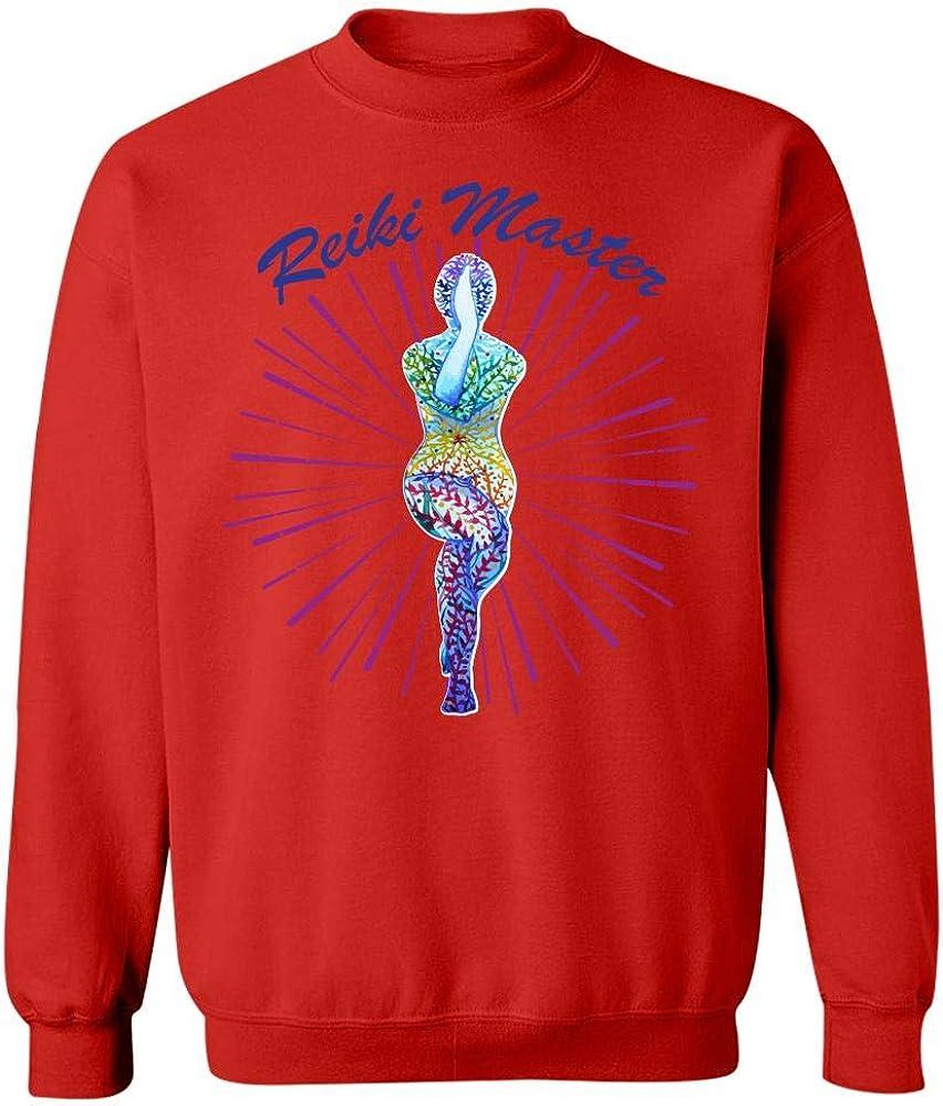 Sweatshirt Reiki Master Chakra Healing Energy Healer Figure Spiritual