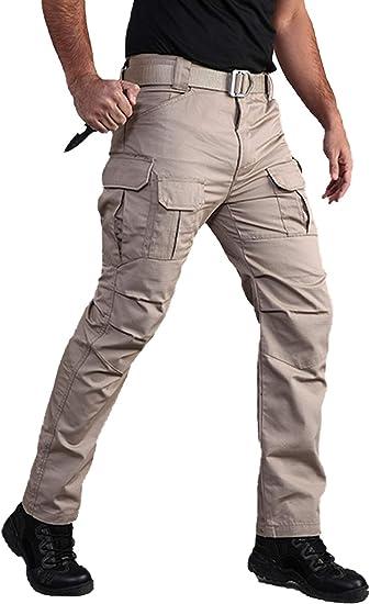 Antarctica Pantalones Tacticos De Senderismo Para Hombre Duraderos Ligeros Resistentes Al Agua Militar Para Pesca Viajes Etc Amazon Com Mx Ropa Zapatos Y Accesorios