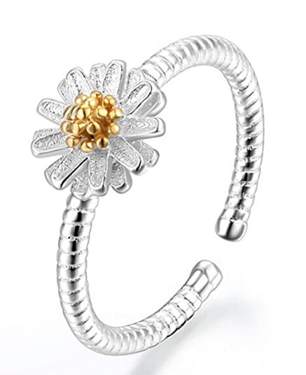 Impression 1 Pcs Ringe Ring Blumen Diamant Ring Mode Ring Schmuck