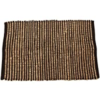 Artim 2x3 Sandstripe Rug in Black