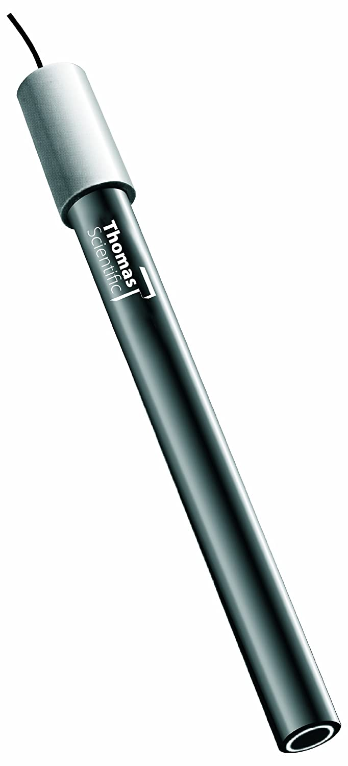 Thomas Silver and Sulfide Combination Ion Electrode 107900 to 0.01ppm Measurement Range Thomas Scientific 3211BN