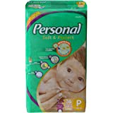 Fralda Descartável Soft and Protect Jumbo, Personal, Pequena, 36 unidades, Branco (Embalagem pode variar)