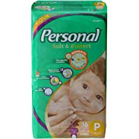 Fralda Descartável Soft and Protect Jumbo, Personal, Pequena, 36 unidades
