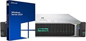 HP ProLiant DL380 Gen10 Server, Windows Server 2019 Standard, 2 Intel Silver 4110 8 Core CPUs, 64GB RAM, 7.2TB Enterprise SAS HDDs, RAID