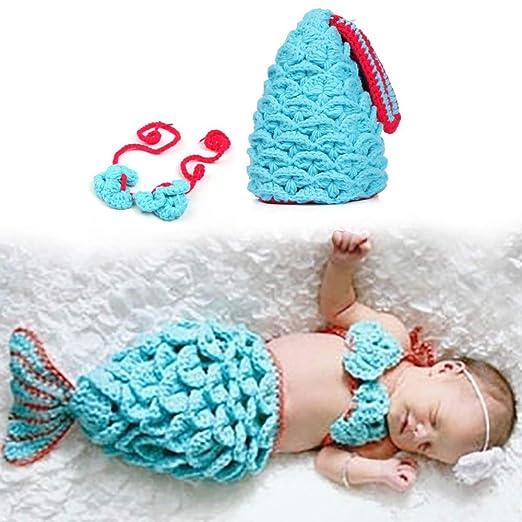 Festnight Bebé recién Nacido Accesorios de fotografía niña ...