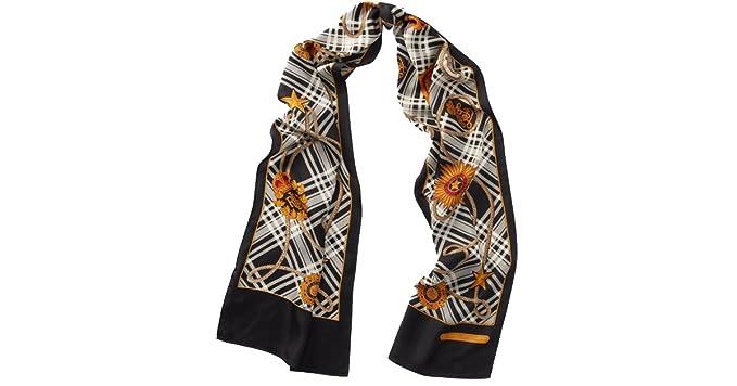 b4a5dedac0 Lauren Ralph Lauren Women`s Crest Silk Scarf (Cream (109), One Size ...