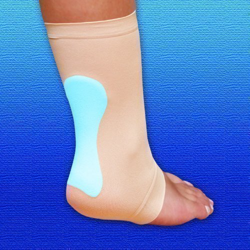 Moisturising Protection - Silipos Achilles Heel Pad | Large / X Large | Cushioning Protection Sleeve with Moisturising Mineral Grade Oil by Silipos