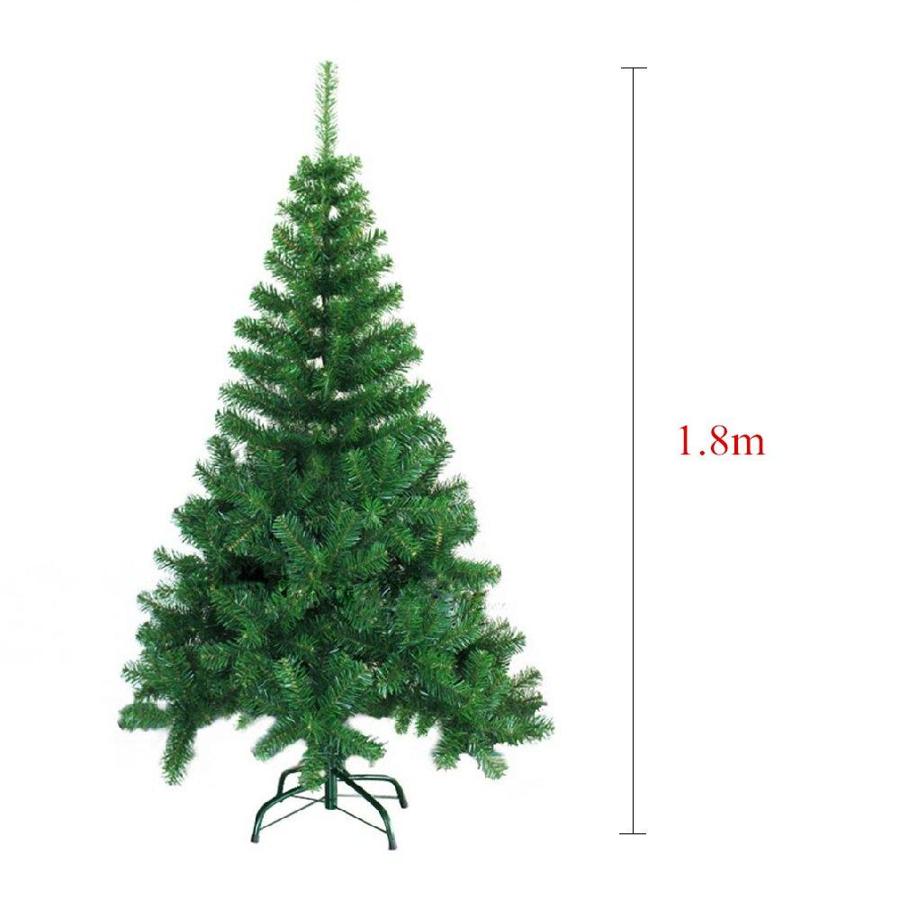 SAILUN 180cm künstlicher Weihnachtsbaum Christbaum Tannenbaum mit ...