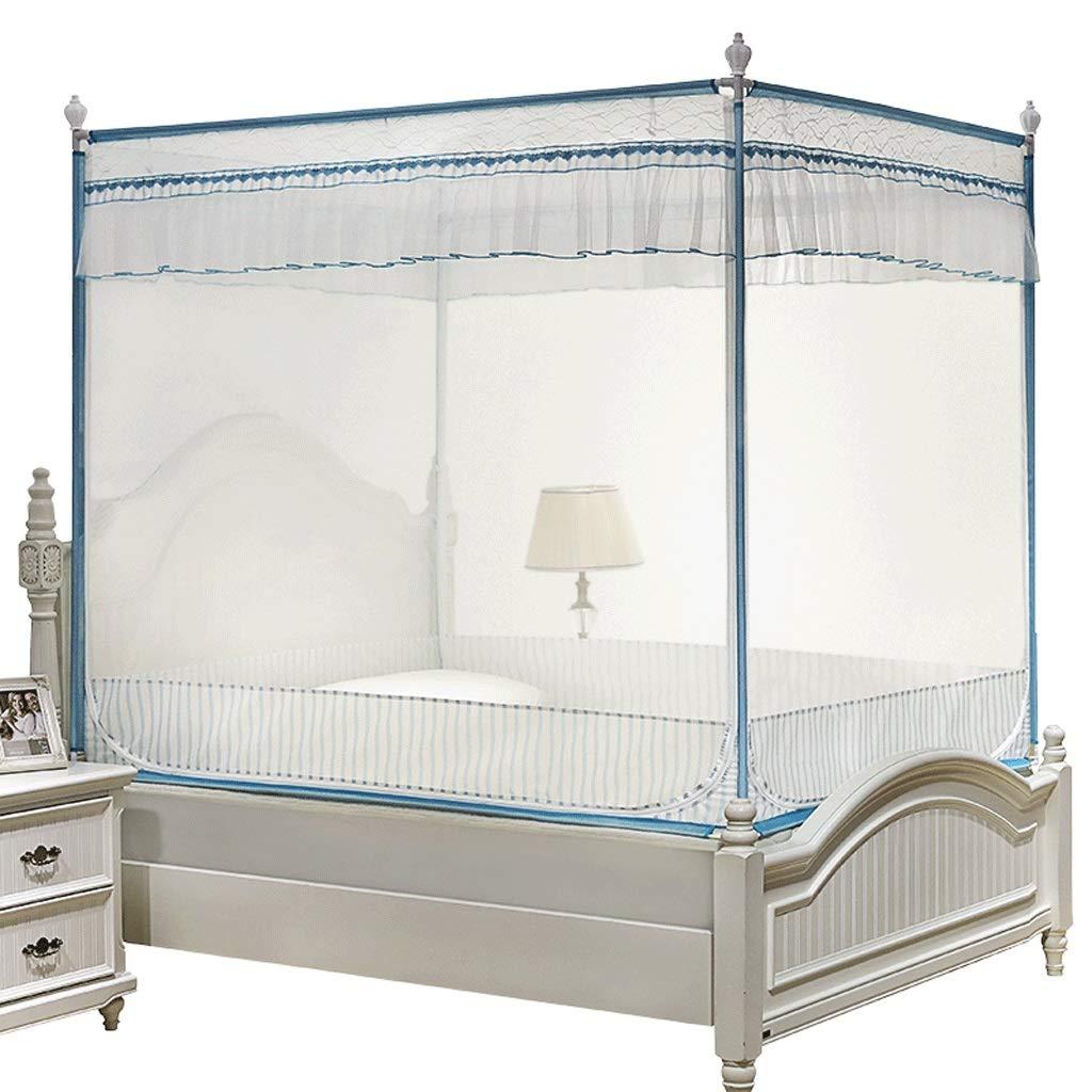 蚊帳1.2 / 1.5 / 1.8 / 2 / 1.8 * 2.2mベッドシンプルなシッティングベッドジッパーが簡単に取り付け可能蚊帳 (サイズ さいず : Bed 1.5m) Bed 1.5m  B07RTMQ244
