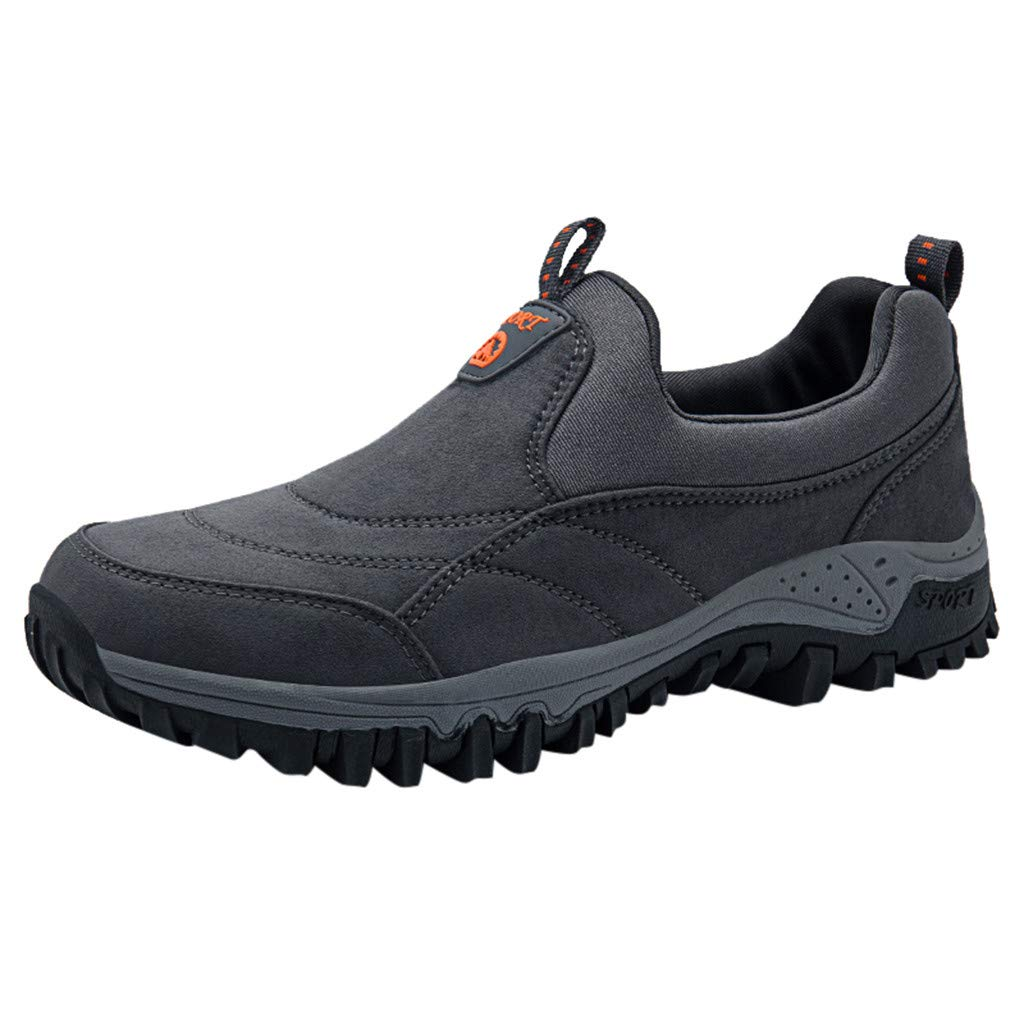 Hiking Shoes Men Lightweight Breathable Non-Slip Low-top Shoes Leisure Sports Running Shoes for Climbing Hiking