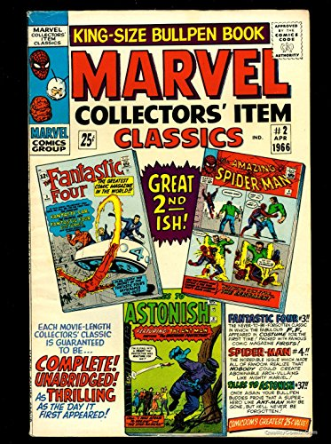 Marvel Collectors Item Classics #2 FN/VF 7.0 Tongie Farm Collection Pedigree