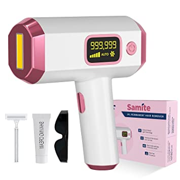 Garatic IPL Hair Remover- Permanent and Pain-Free - Reduces Unwanted Hair- Hair Remover For Women- Laser IPL Hair Epilator- Upper Lip, Bikini, Facial, Arms, Leg Hair Removal- Soft & Flawless Skin