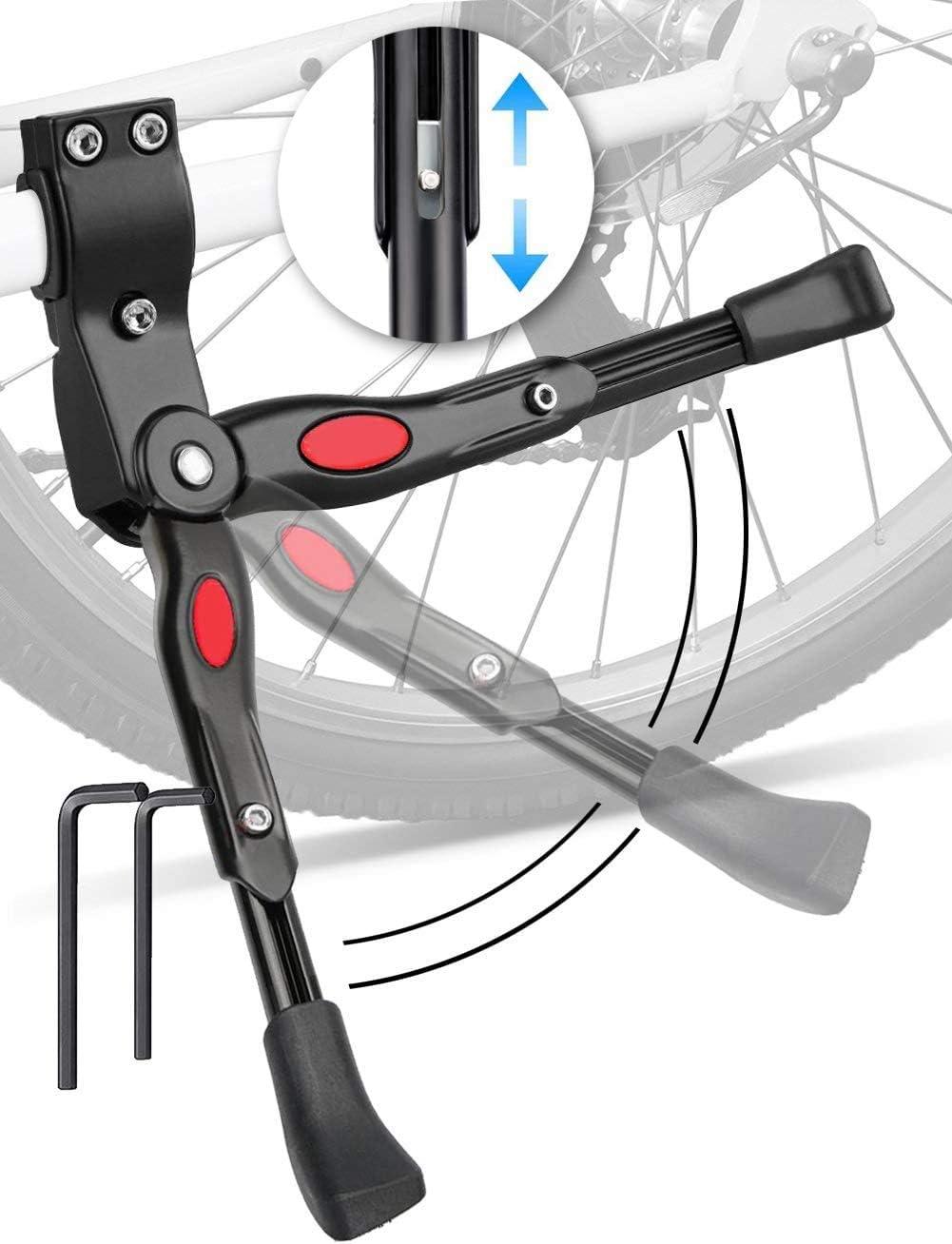 Universal Adjustable Folding Bike MTB Aluminum Bicycle Side Kickstand Rear