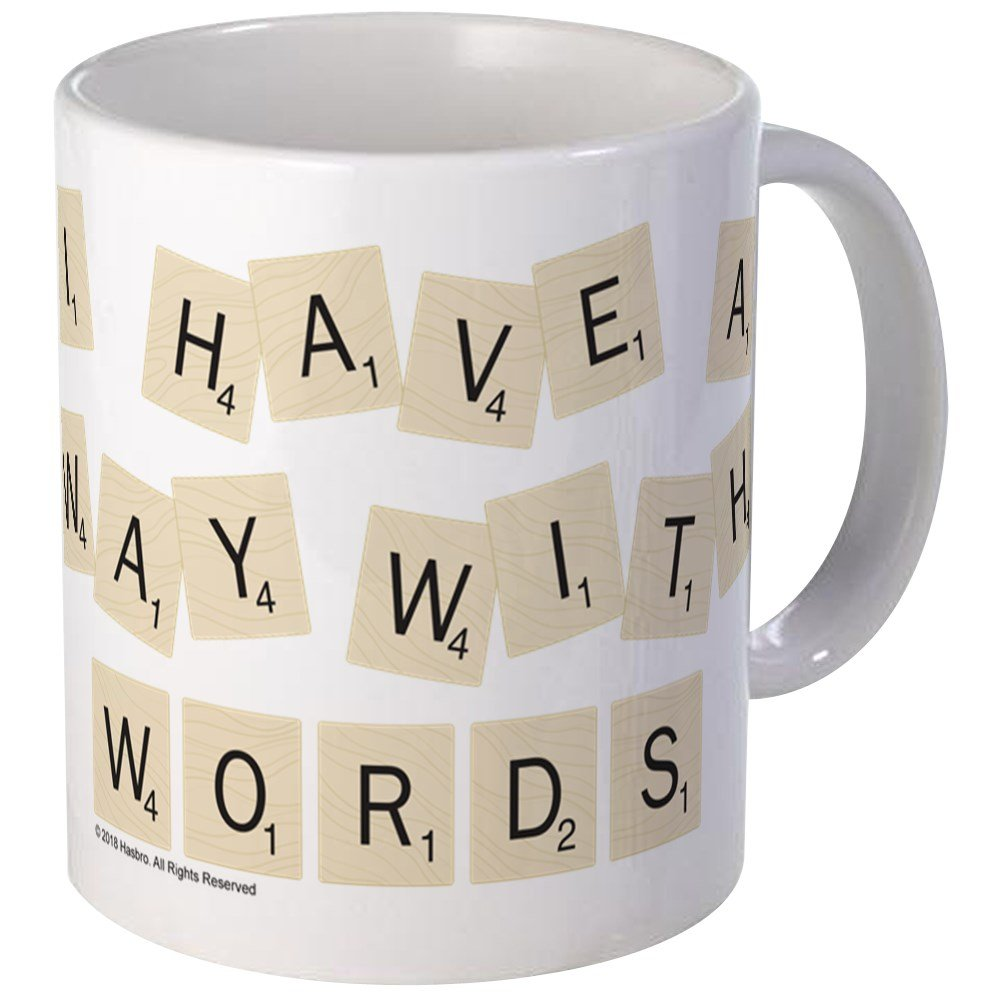 Scrabble Way With Words Unique Coffee Mug, Coffee Cup