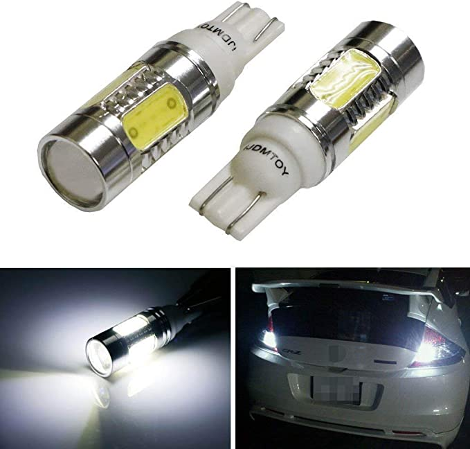 Projector LED Reverse Light Bulbs T15 912 921 906 for Nissan Juke 2 pcs