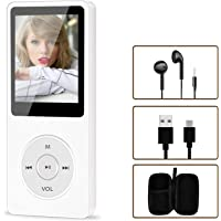 Portable MP4/MP3 Player, Aigital HiFi Music Adapter Built-in 16GB Memory Can Expand to 128GB, Economic Multifunctional…