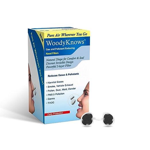 16 opinioni per WoodyKnows Filtri Nasali Antismog, Antipolline, Antipolvere, Filtra Smog,