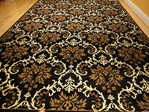 Black Foyer Rug : Small rugs for bedroom contemporary black rug
