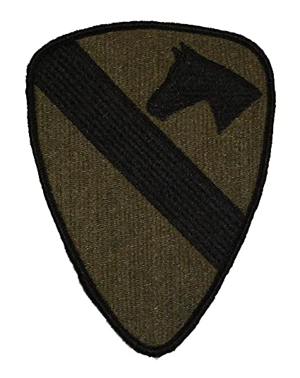 Amazon.com   1ST CAVALRY DIVISION REGULATION SIZE OD PATCH - Olive Drab  Color - Veteran Owned Business   Everything Else 763dde37b4f