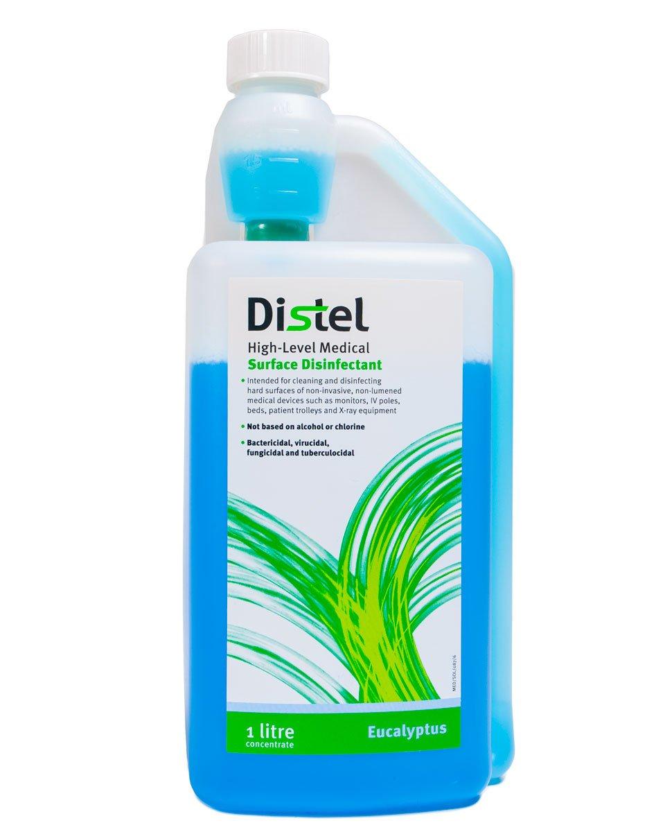 Distel High Level Medical Surface Disinfectant - 1 Litre, Eucalyptus Tristel TM304