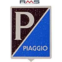 Emblema Piaggio Alt para Vespa Sprint/VBA vbb etc.–Aluminio