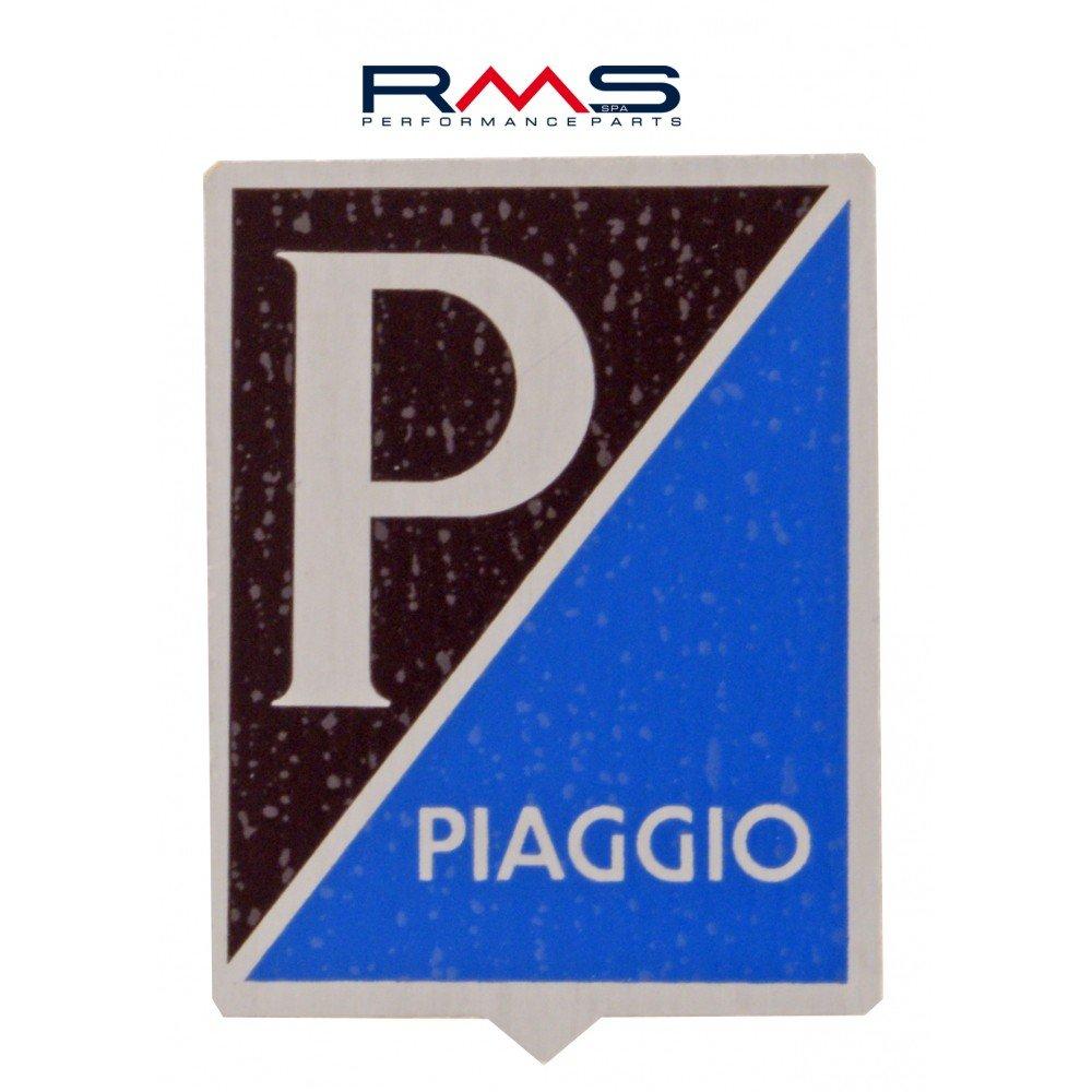 Emblema PIAGGIO Alt per Vespa Sprint//VBA VBB ecc./ autoadesivo 34/X 47/mm /Alluminio
