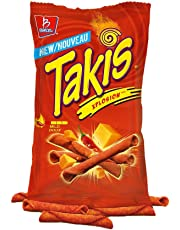 TAKIS® Xplosion Tortilla Chip Snacks, Zesty Nacho Cheese Flavour, 280g Bag