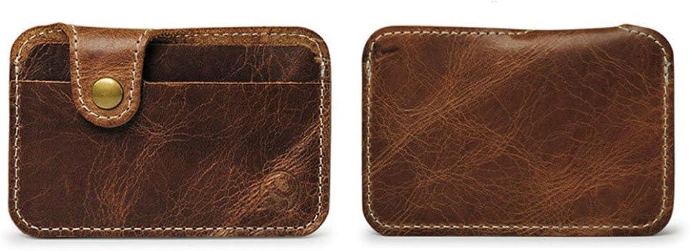 Slim Leather Wallet Credit Card Case Sleeve Card