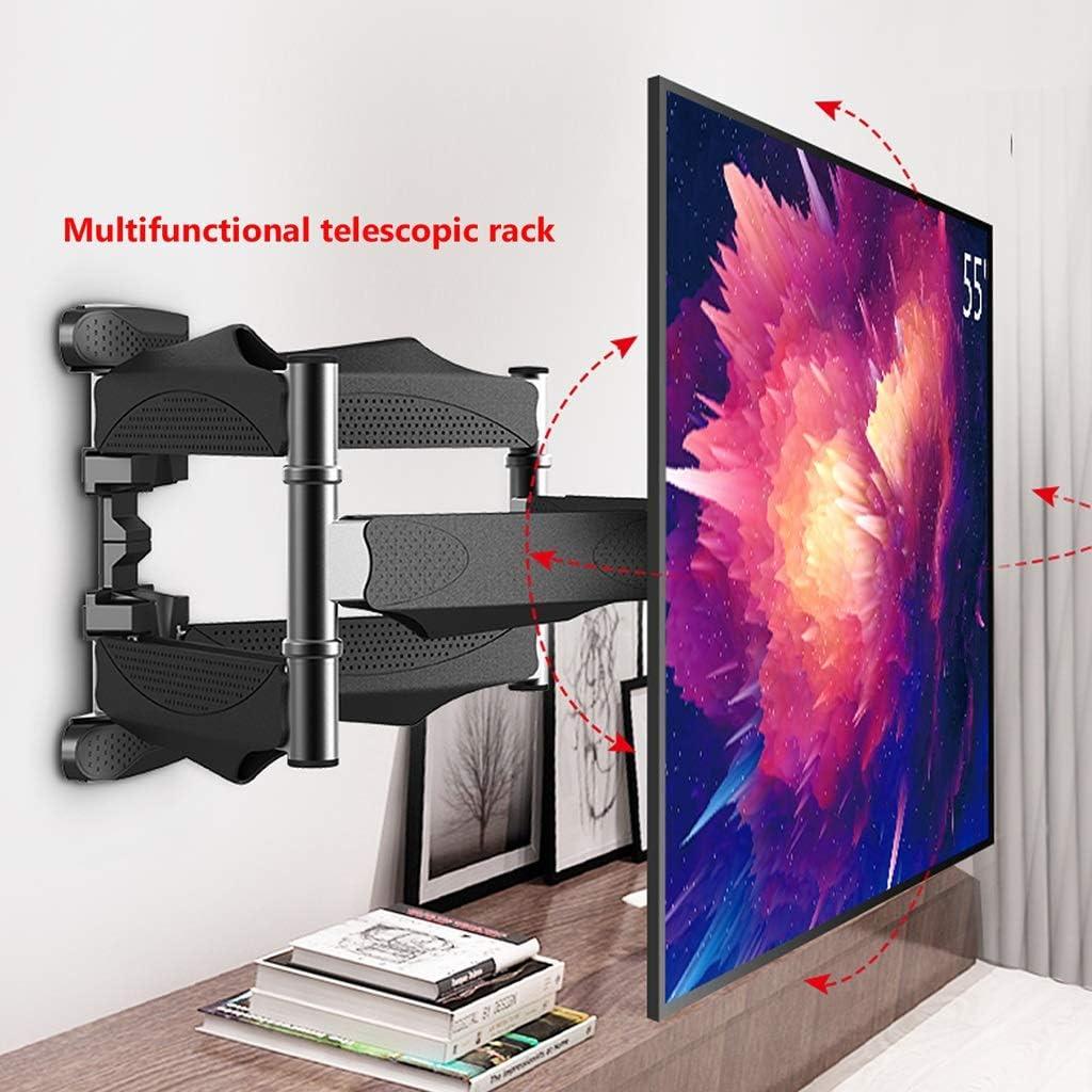Estante Soporte de TV para montaje en pared de TV articulado Soporte de TV para trabajo pesado Soporte para TV con brazos de extensión Soporte para TV con inclinación y giro para