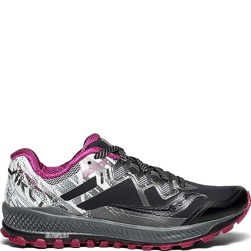 Trail Saucony Peregrine 4 Femmes Noir Chaussures Baskets de