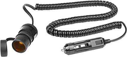 Eufab 16559 Extension Cable 12 V 10 A Length 3m Auto