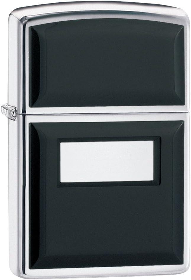 Zippo Ultralite Mechero, Metal, Negro, 3.5x1x5.5 cm