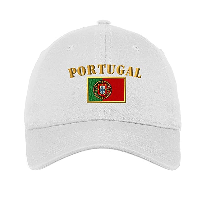 ef0df51d10f Amazon.com  Speedy Pros Portugal Flag Embroidered Unisex Adult Flat ...