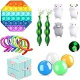 Fidget Toys Pack, 26 Pcs Fidget Toy Fidget Pack Cheap for Kids or Adults,Pop Fidget Toy Fidget Sensory Toy Fidget Toys…